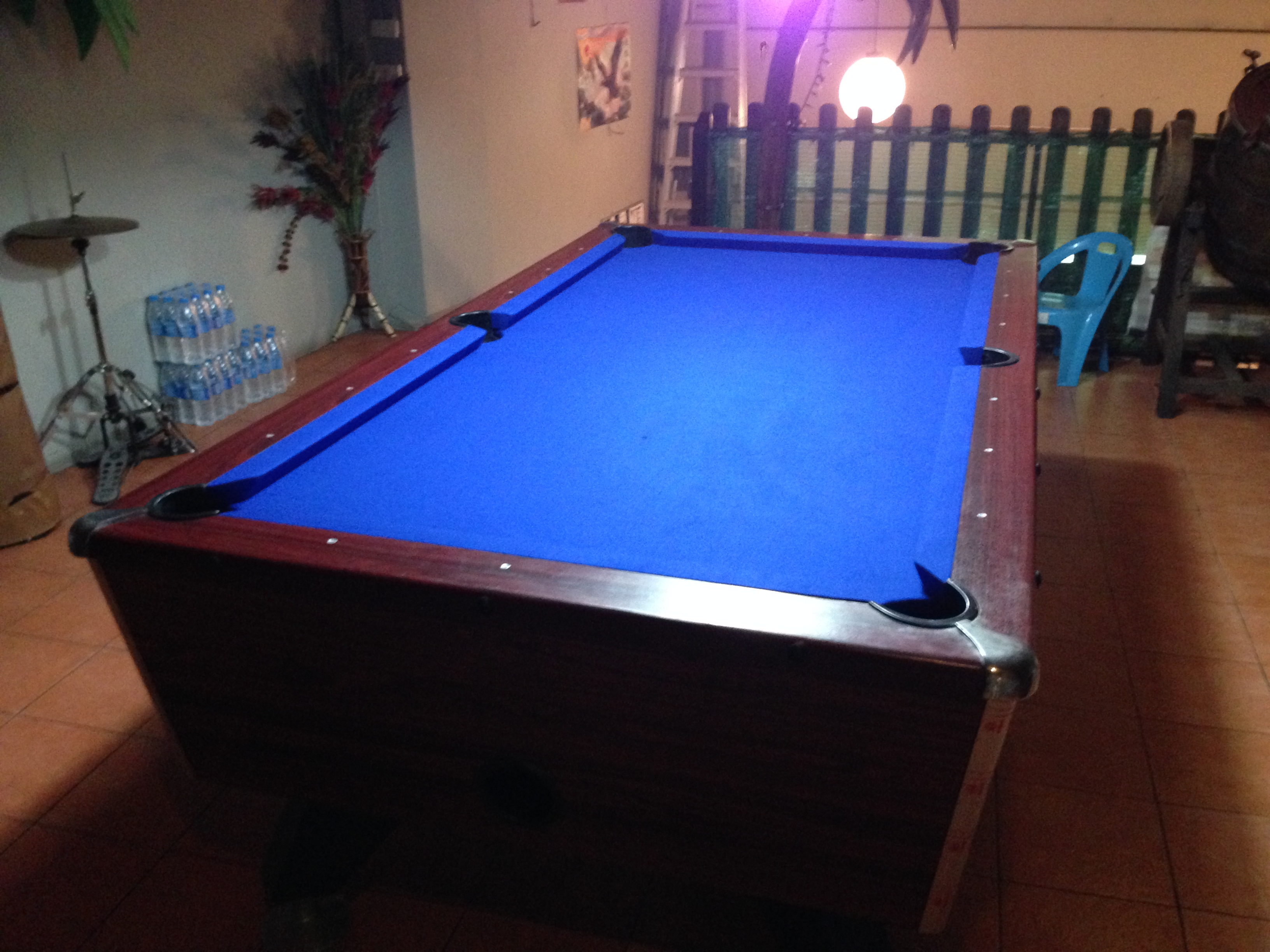 The Table Has Been Professionally Installed And Set Up To Provide A Great  Playing Experience.